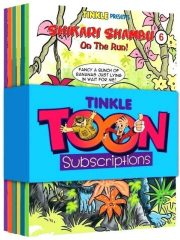 TINKLE TOONS HALF YEARLY SUBSCRIPTION Magazine Subscription