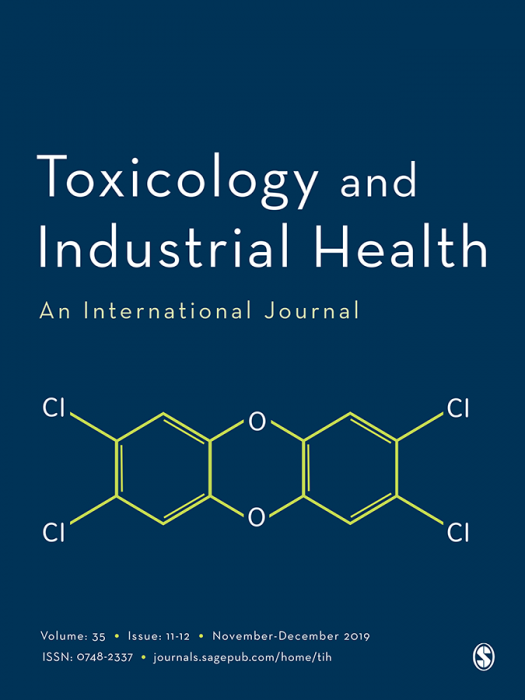 Toxicology and Industrial Health Journal Subscription