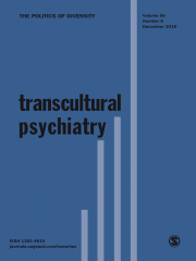 Transcultural Psychiatry Journal Subscription