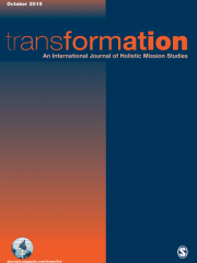Transformation: An International Journal of Holistic Mission Studies Journal Subscription