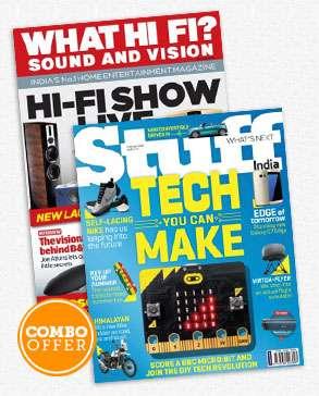 WHAT HI FI + STUFF COMBO Magazine Subscription