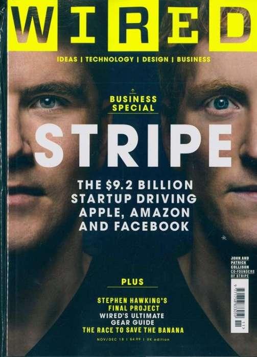 Wired - UK Edition International Magazine Subscription