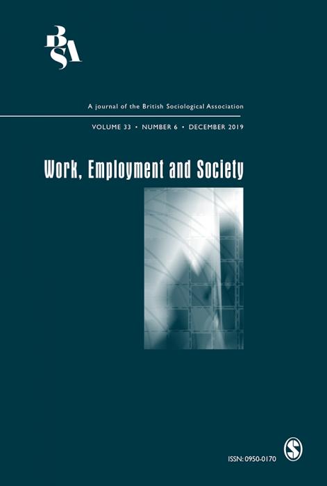 Work, Employment & Society Journal Subscription