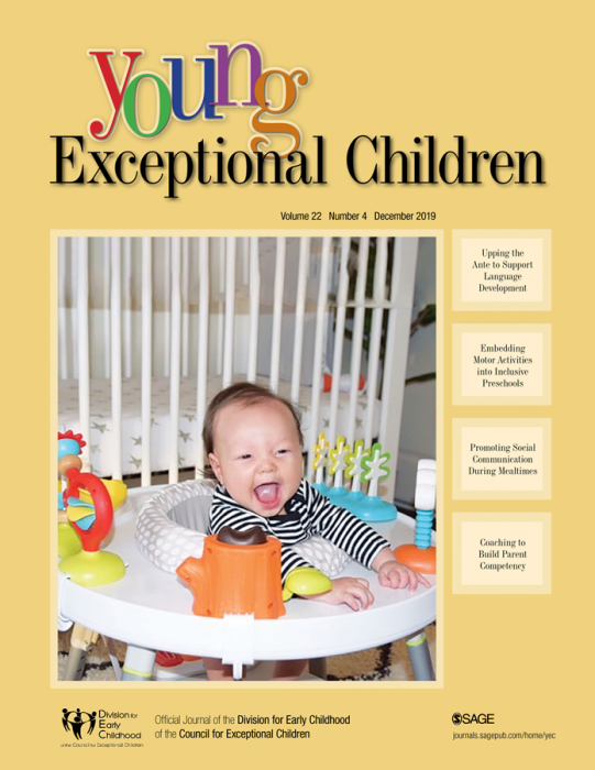 Young Exceptional Children Journal Subscription